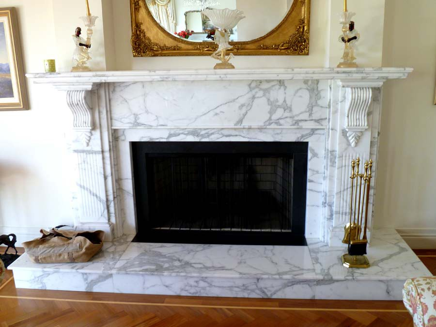 Project 7 – Marble Fireplace