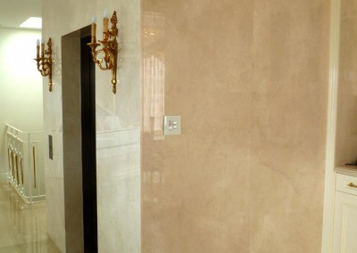 20mm Crema Marfil Marble Full Height Lift Panels